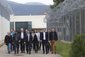 Επίσκεψη του Προέδρου της Νέας Δημοκρατίας κ. Κυριάκου Μητσοτάκη στις γυναικείες φυλακές στον Ελαιώνα Θηβών στις 11/03/2016