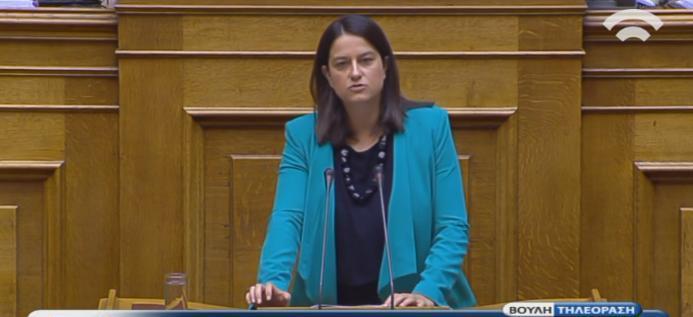 """""""Η Κυβέρνηση ΣΥΡ/ΑΝΕΛ δεν μπορεί- ή δεν θέλει- να εγγυηθεί την εφαρμογή του νόμου"""": η παρέμβασή μου κατά τη συζήτηση της Επίκαιρης Επερώτησης που συνυποβάλαμε 17 Βουλευτές ΝΔ για την έξαρση της εγκληματικότητας στο κέντρο της Αθήνας"""