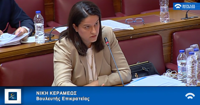 Παρεμβάσεις, ως εισηγήτριας της Νέας Δημοκρατίας, στην Επιτροπή Μορφωτικών Υποθέσεων επί της διαδικασίας και της αρχής του νομοσχεδίου του Υπουργείου Παιδείας, Έρευνας και Θρησκευμάτων «Μέτρα για την επιτάχυνση του κυβερνητικού έργου σε θέματα εκπαίδευσης»
